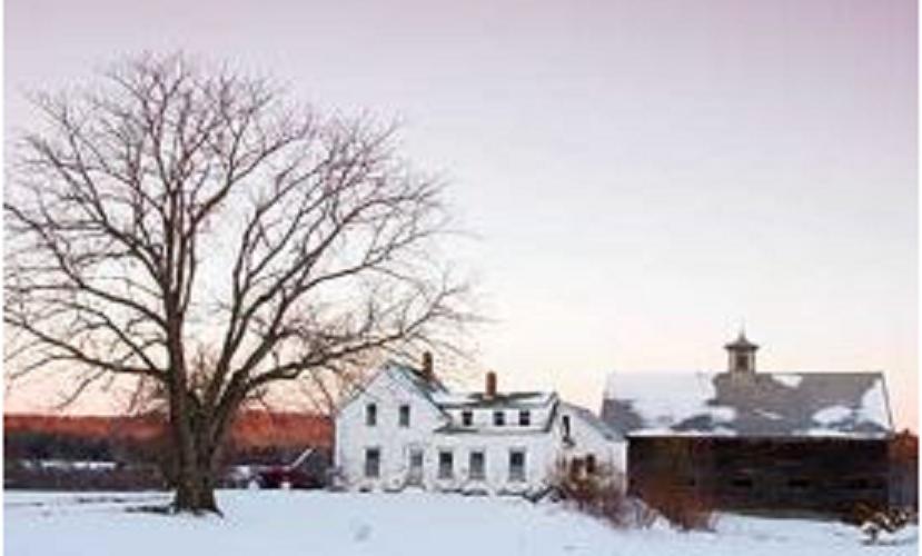 The Morin Farm in New Gloucester, Maine