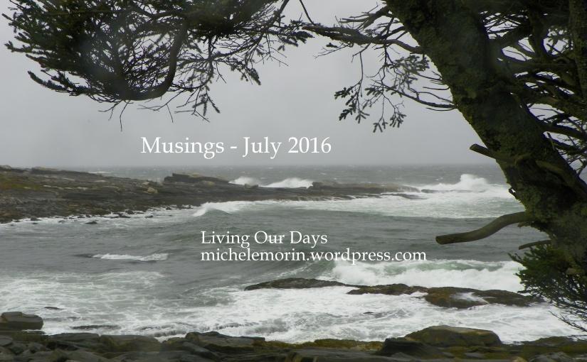 Musings — July2016