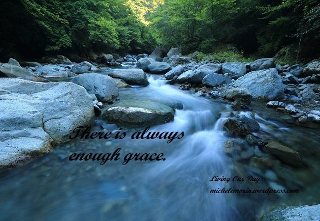 Sending Grace Downstream