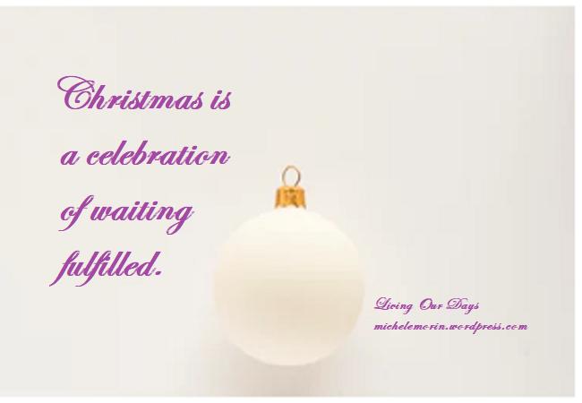 Wait for the Spirit of Christmas