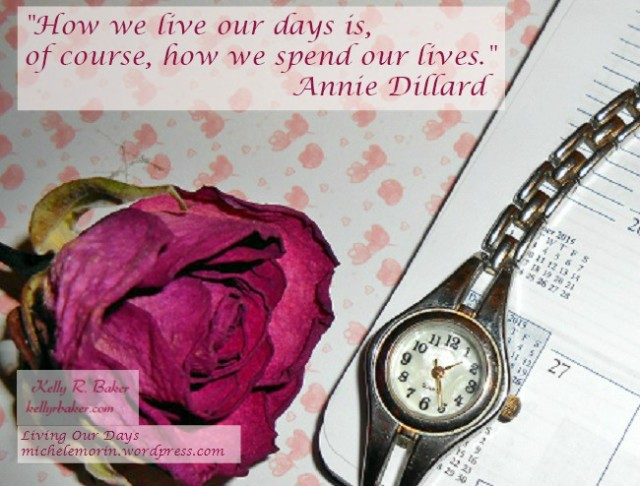 Managing Time on the Fringes by Living Our Days