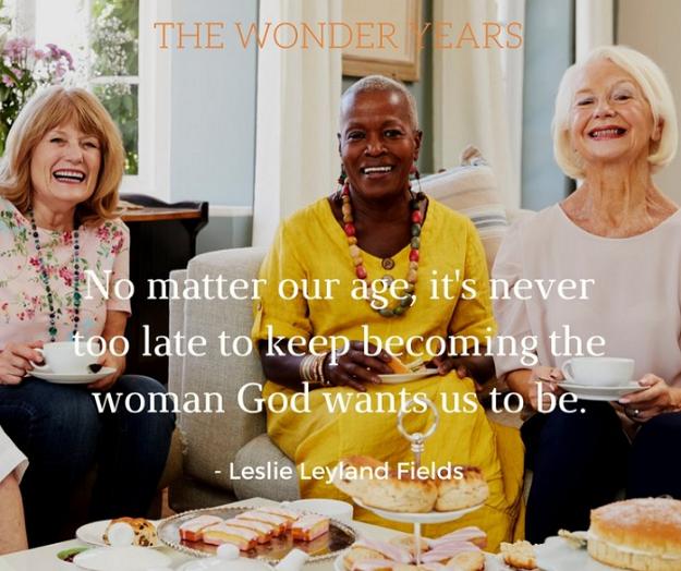 The Wonder Years, Midlife Women, Aging