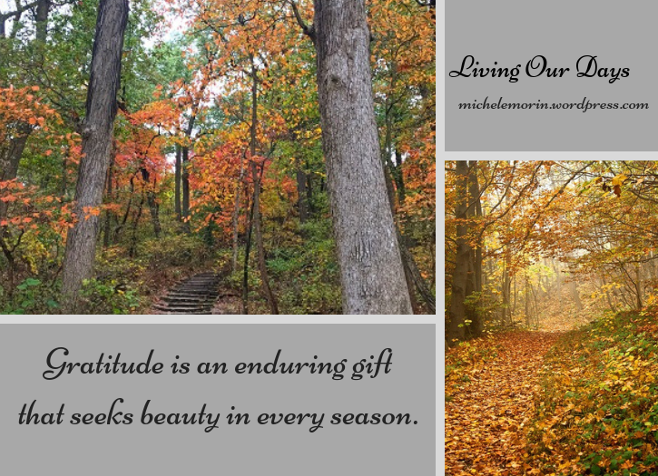 Gratitude is a gift for all seasons.