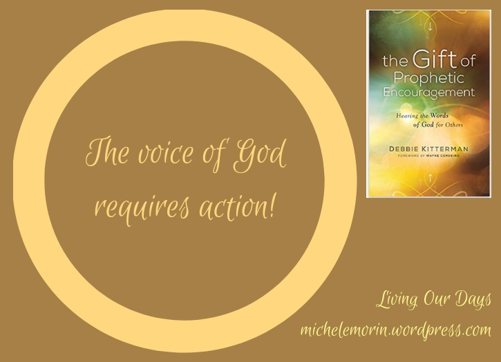 A review of The Gift of Prophetic Encouragement by Debbie Kitterman