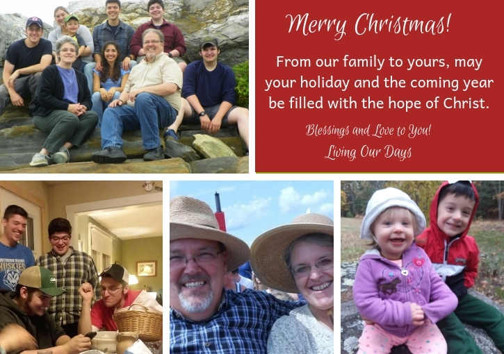 Merry Christmas from Living Our Days!
