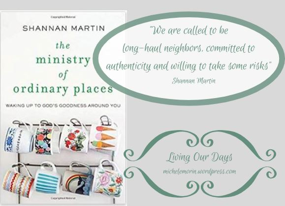 When God Asks for More but it Looks Like Less: my review of The Ministry of Ordinary Places