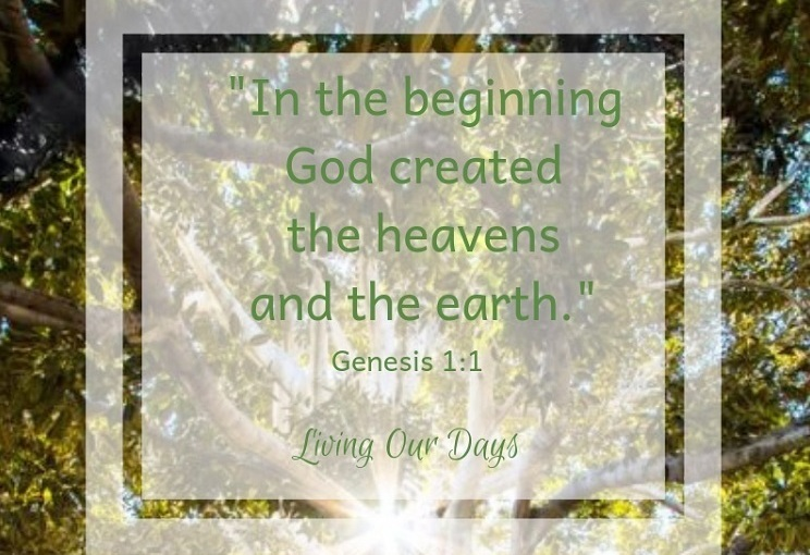 Sunday Scripture ~ Genesis 1:1