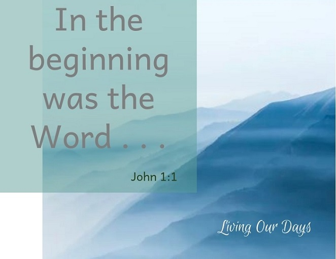Sunday Scripture ~ John 1:1