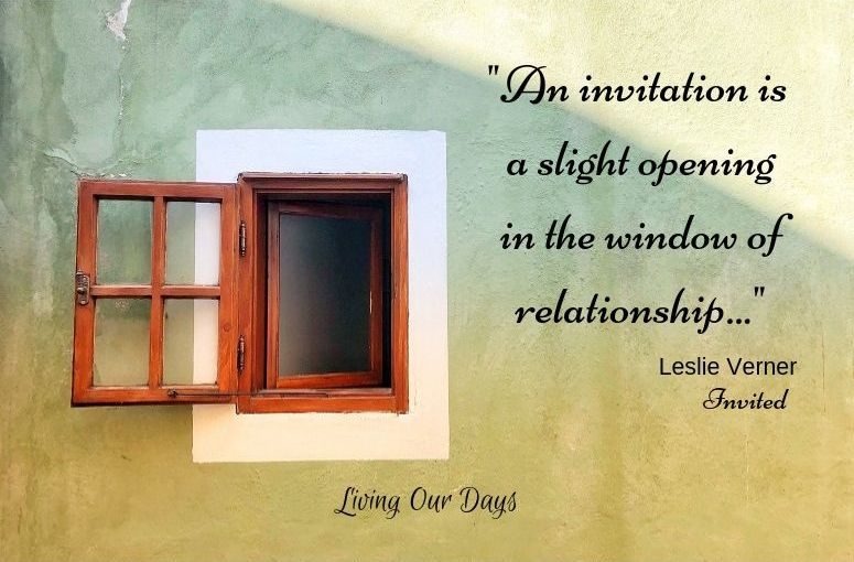 Vibrant Hospitality:  Opening the Window of Relationship