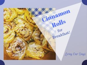 My recipe for over-night rising cinnamon rolls