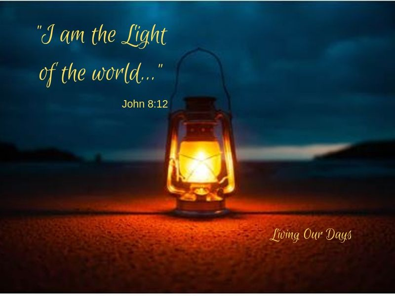 Jesus is the Light that shines in darkness.