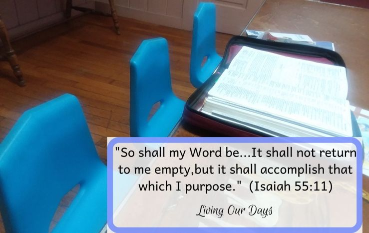 My calling is a support role, a faithful truth-giving so that a growing relationship with God will be based upon knowledge of his ways.