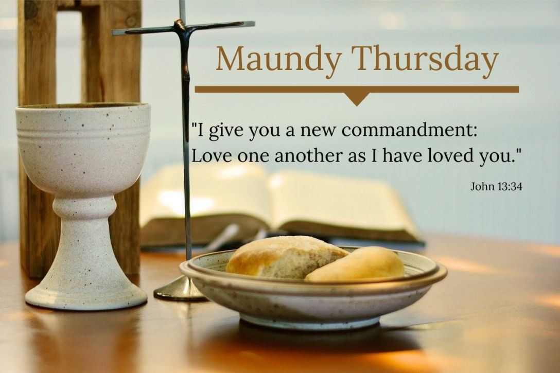 The holy mandate--handed down to the disciples in word and in deed--was to follow their Leader into a life of love.