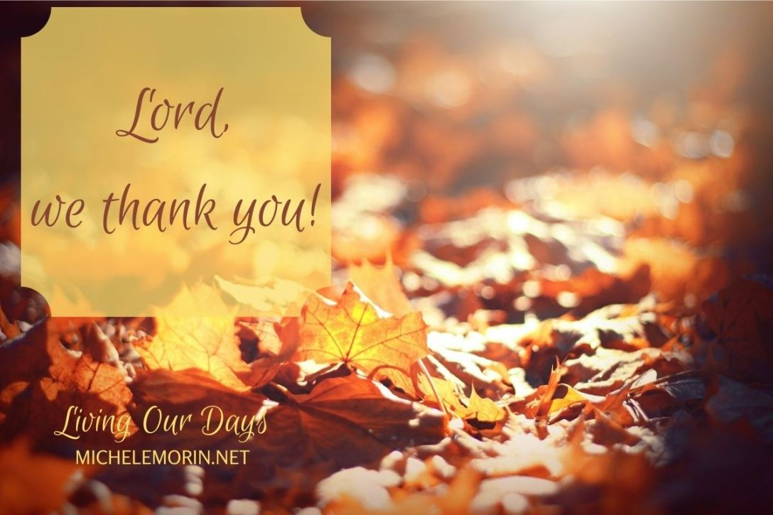 A Prayer for You on Thanksgiving Day