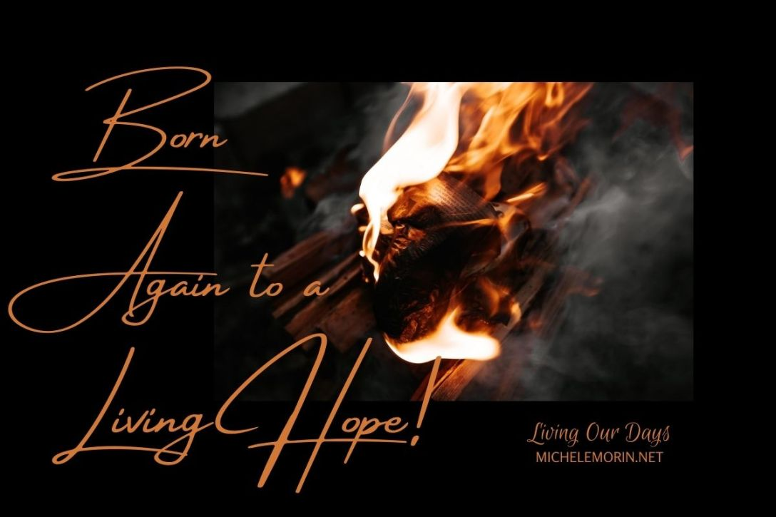 Let's commit ourselves to biblical thinking and watch the fire of our hope in God begin to burn brightly!
