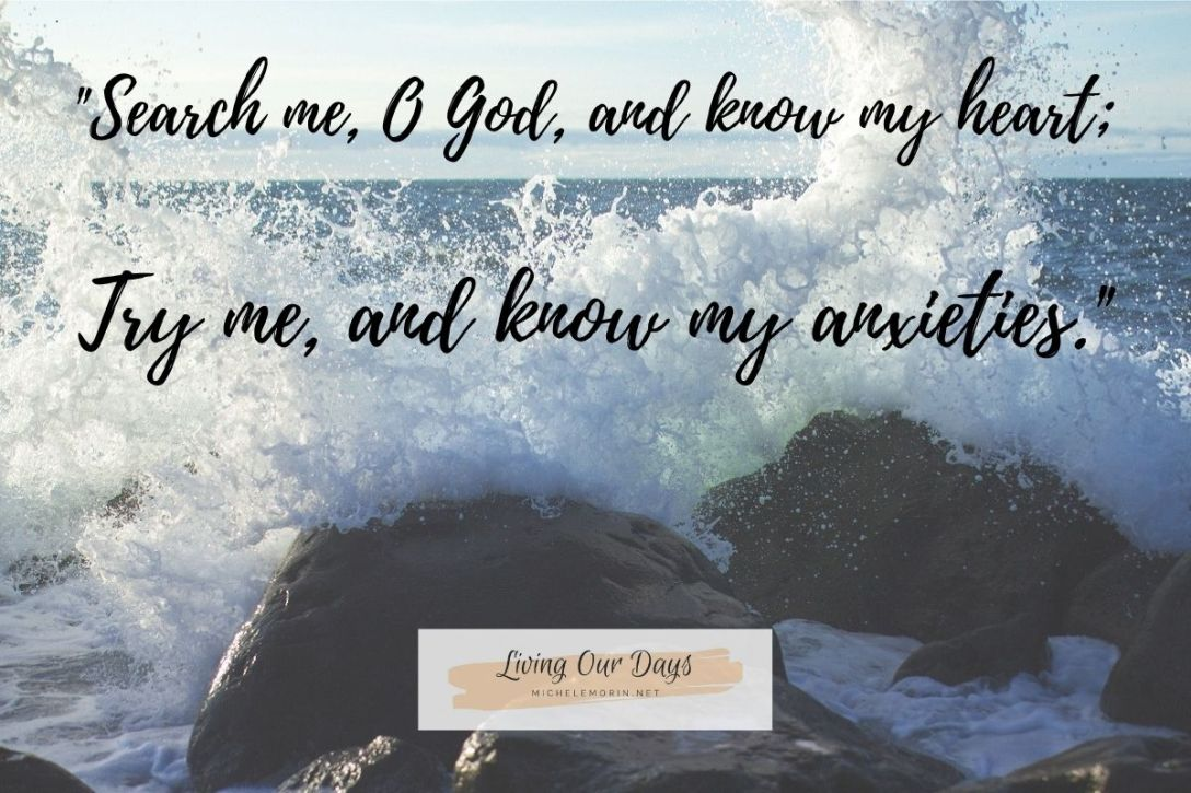 What does God want me to know about my anxiety?