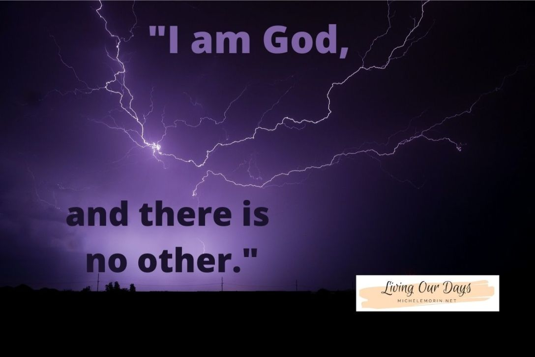 Are you trying to create God in your own image?